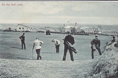 Braid v Taylor Golf Match Lelant Ref.572 C.pre 1914