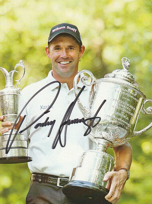Harrington, Padraig  Signed Trophies Photo Ref.28