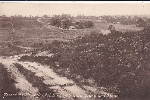 Ashdown Forest Golf Links Ref.1007 C.1909