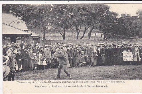 J.H.Taylor at Alnmouth.Ref 1151 C.1907