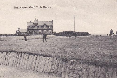 Brancaster Golf Links & Club House Ref 331. C.19
