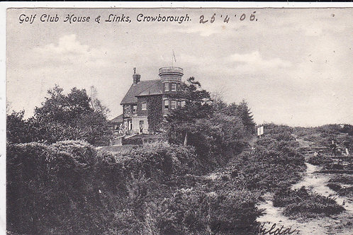 Crowboroug Golf House C.1905 Ref.1381