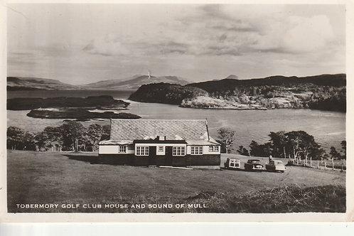 Tobermory Golf Pavilion & Bay Ref.2684 C.1950s-60s