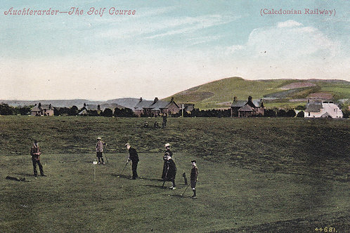 Auchterarder Golf Links.Ref 213.C.Early 1900s