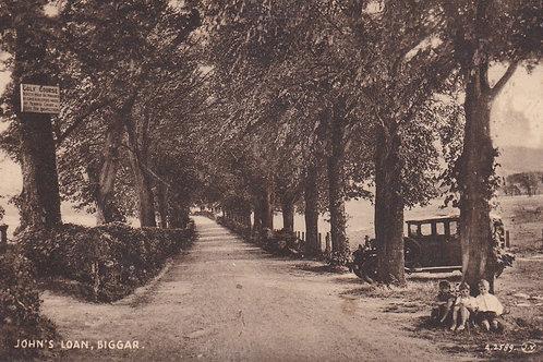Biggar Golf Course (Road To) Ref 974 C.1930s