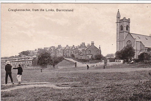 Burntisland Golf Links.Ref 1237 C.1914-17