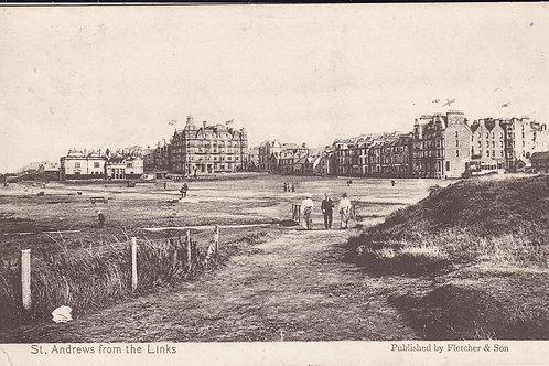 St.Andrews Links & Club House Ref 493 C.1909