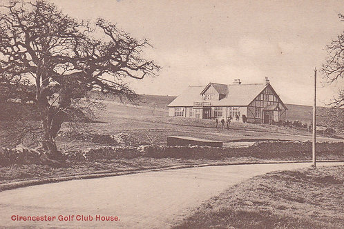 Cirencester Golf Club House Ref.1125a C.Ea 1900s