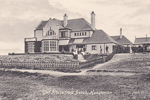 Hunstanton Golf Club House.Ref 794. C.1913-18