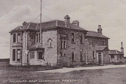 Prestwick St.Nicholas Golf Links.Ref 739. C.1907
