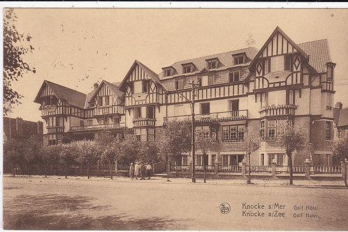 Knocke Golf Hotel,Belgium.Ref 1327 C.1935