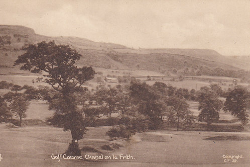 Chapel-en-le-Frith Golf Course Ref.1562 C.1900-20