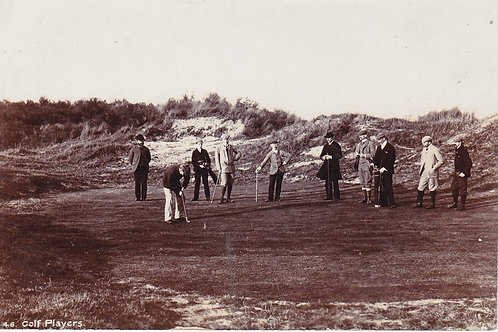 Unknown Golf Links & Players Ref 129 C.Early 1900