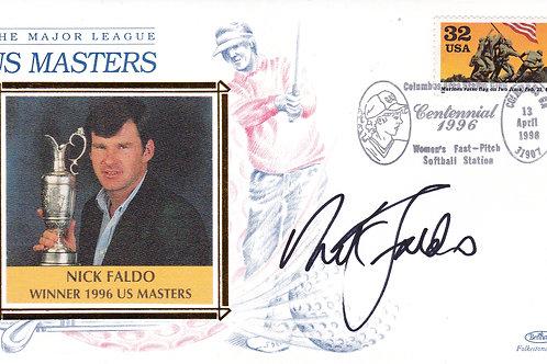 U S Masters SIG.1st Day Silk Cov.Ref FDC 35.C.1996