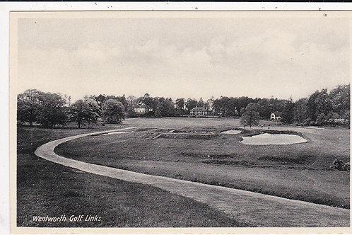 Wentworth Golf Course Ref.1411 & 1412  C.1927-35