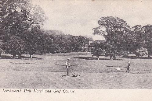 Letchworth Hall Hotel & Golf Course Ref.640a C.1907