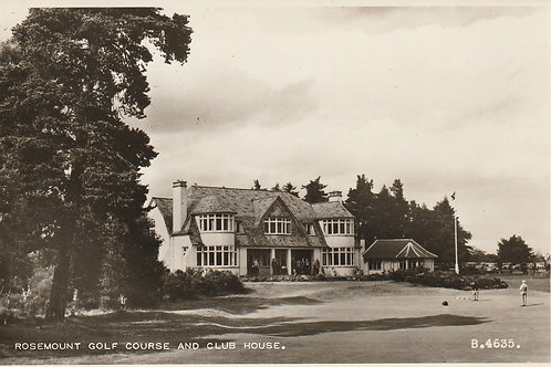 Blairgowrie Golf Club House Ref.2434 C.1950s