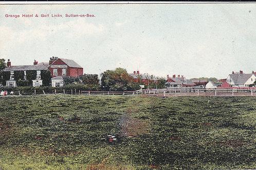 Sutton-on-Sea Golf Links & Grange Hotel Ref.548 C.1909