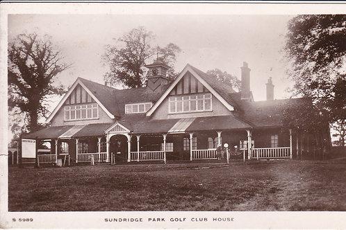Sundridge Park Golf Pavilion Ref.1601 C.1913