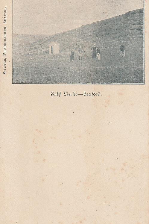 Seaford Head Golf Links Ref.2454 C.Pre 1887-1907