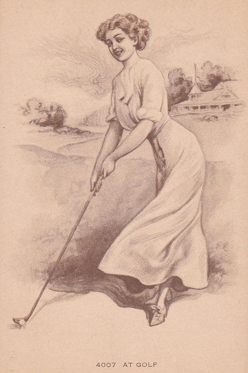 Golf Art/Fashion Ref.2212a C.1920