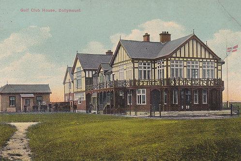 Dollymount Golf Club House (Royal Dublin) C.Pre 1914 Ref.1083a