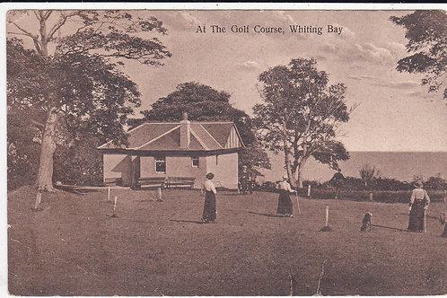 Whiting Bay Golf Links Ref.592 C.1910-14