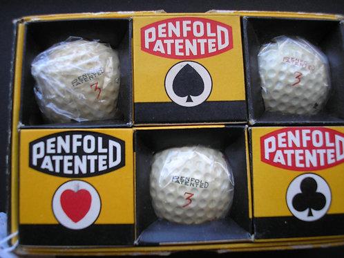 Penfolf Patented 1.62 Golf Balls Ref.299