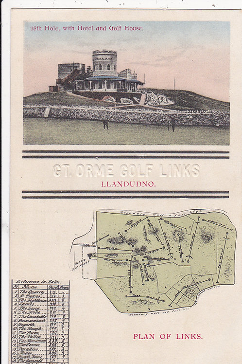Great Orme Links,Llandudno.Ref 683 C.Early 1900s ?
