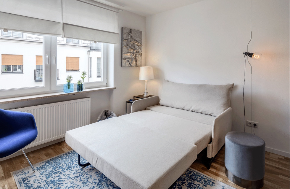 1 Zimmer Studio Apartment: München-Nymphenburg