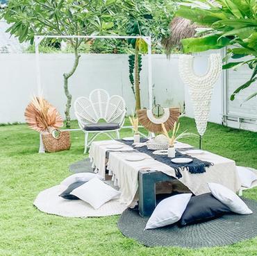Garden Boho Picnic