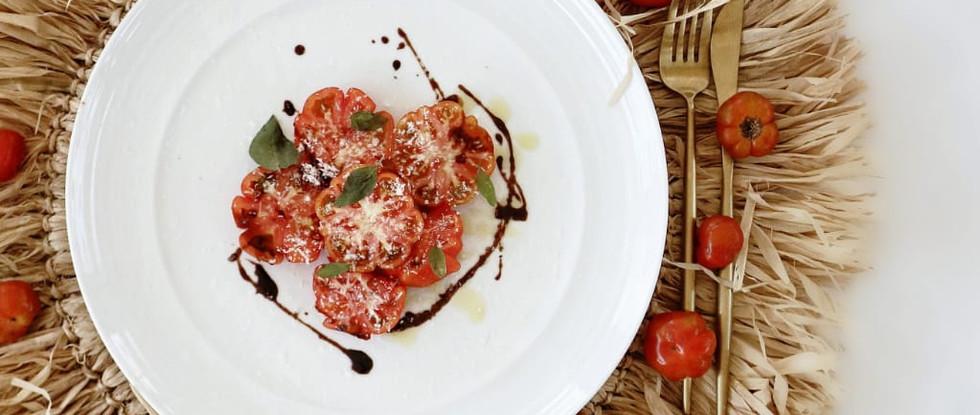 Organic Heirloom Tomato Salad