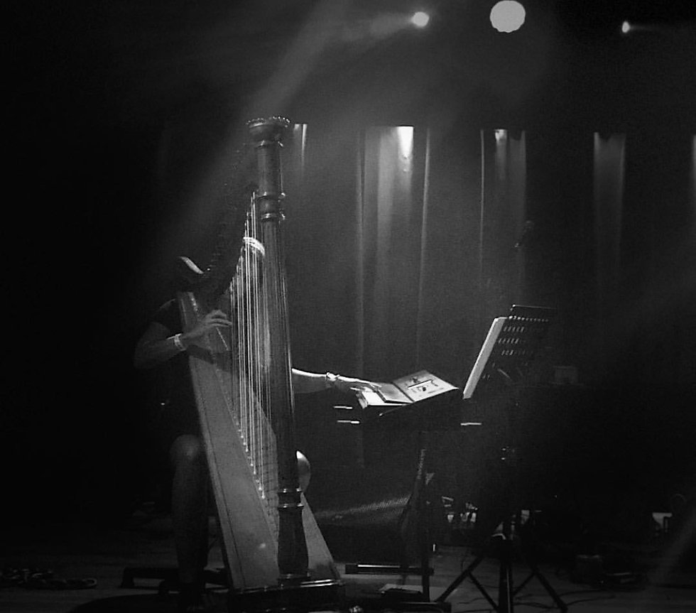 Live harp music for your wedding or event