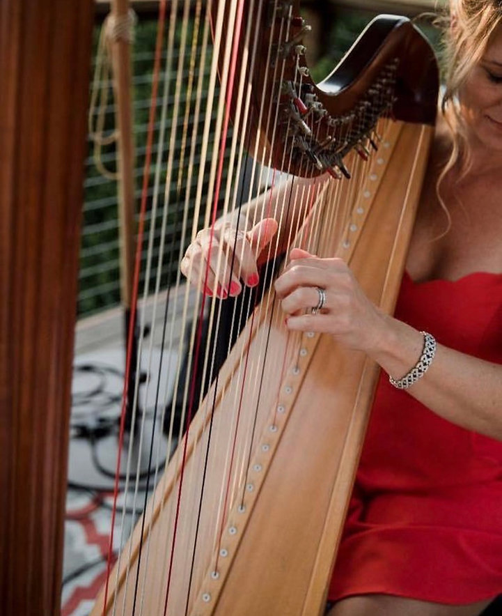 Live harpist for your wedding or event
