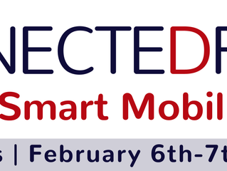 Meet us at ConnecteDriver & Smart Mobility - Brussels Feb 6th-7th