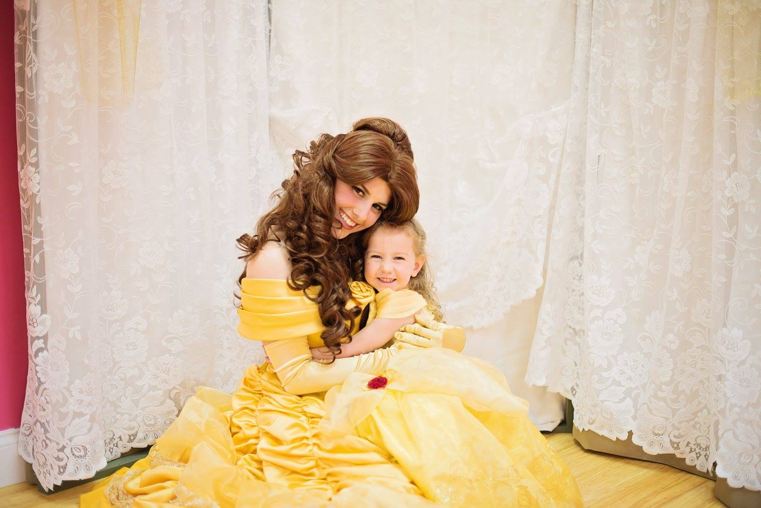 Belle and aubrey
