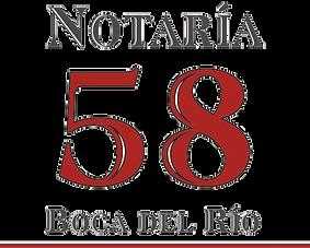 Notaria 58 Boca del Rio