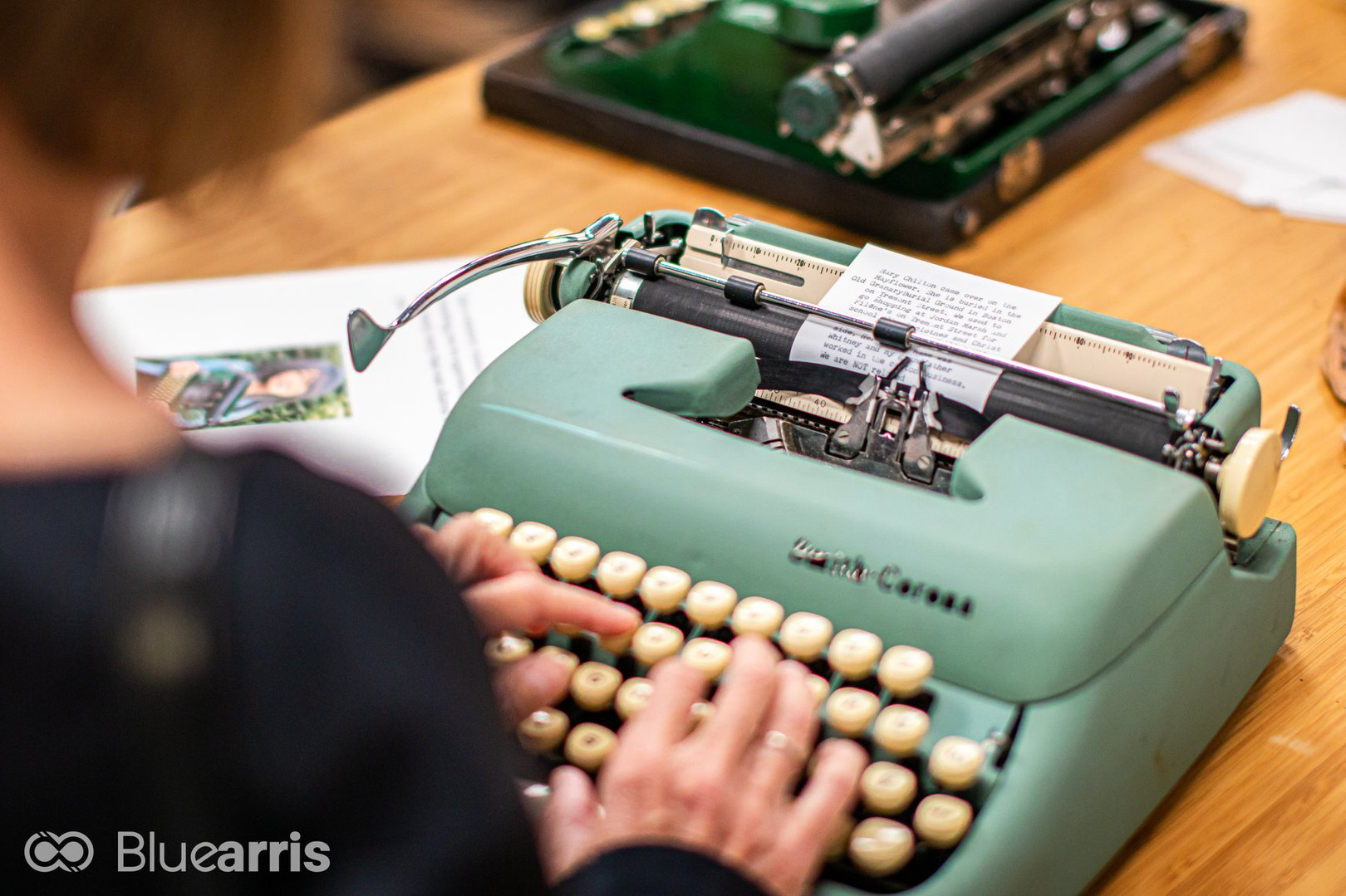 Typewriter Memory Project with artist C.K. Itamura