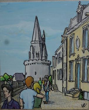 6 - Rue sur les murs - La Rochelle