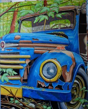 41 - Camion US Bleu