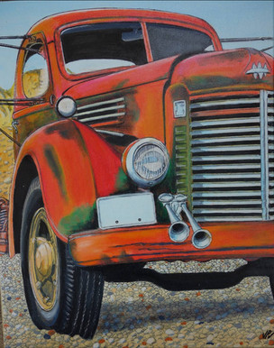 54 - Camion US Rouge
