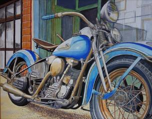 33 - Harley Knuckelhead