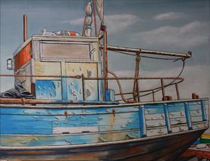 51 - Bateau Pêche Bleu