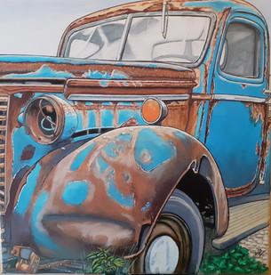 79 - Pickup US bleu