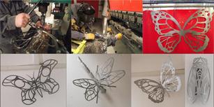 """Appliques-lampes """"Insectes"""""""