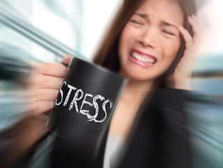 What is the #1 Body Sign that tell you--You are STRESSED?