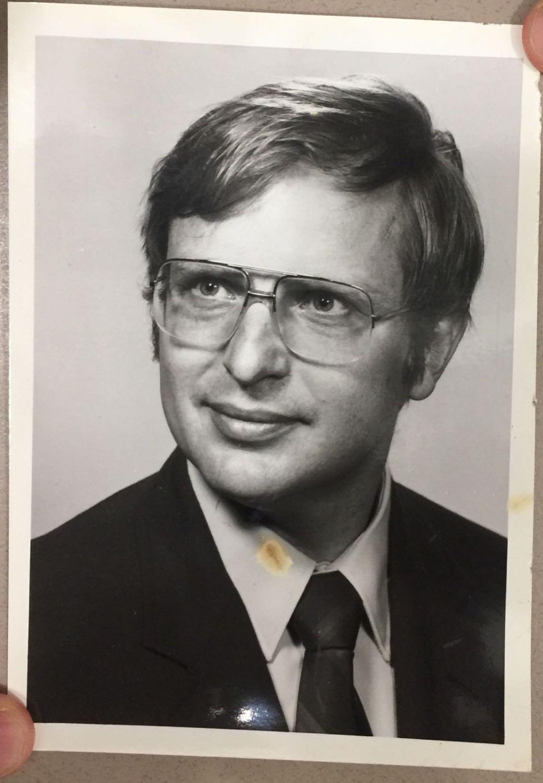 Master Graduation Photo (1967)