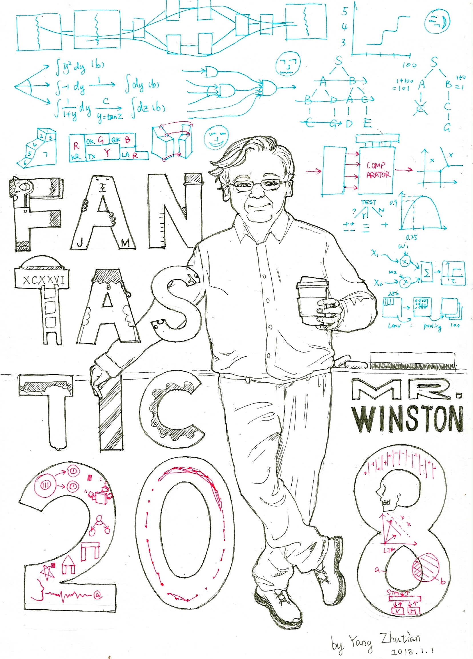 Fantastic Prof Winston and 6.034