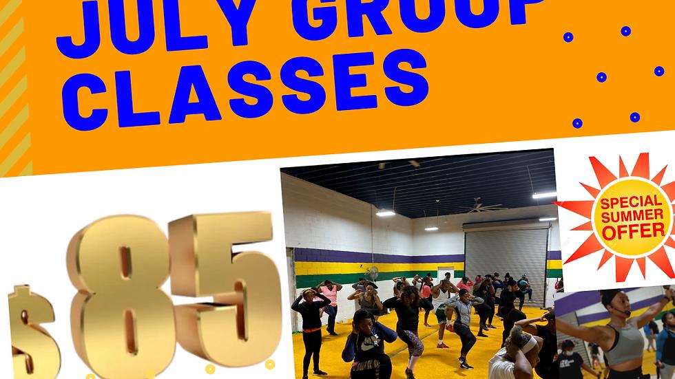 July Group Class