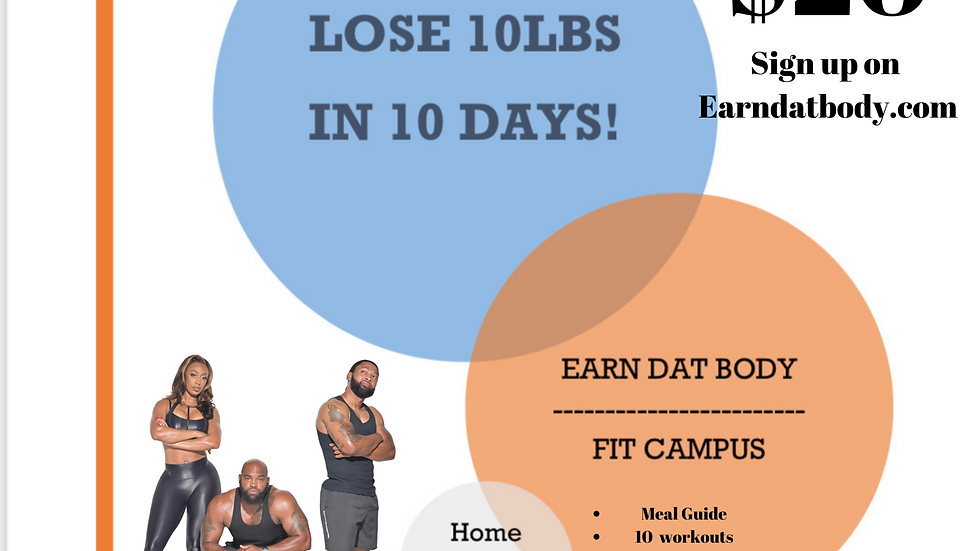 10lbs in 10 day Challenge